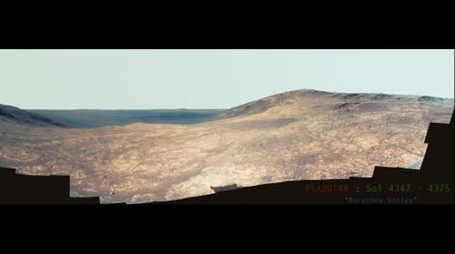 """Oppertunity Rover [PIA20749] Sol(s) 4347 to 4375  """"Marathon Valley"""""""