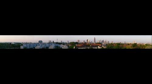 Frankfurt am Main, Skyline von Westen