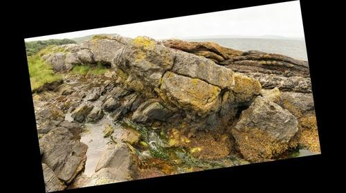 Hutton's Unconformity, Arran, Scotland