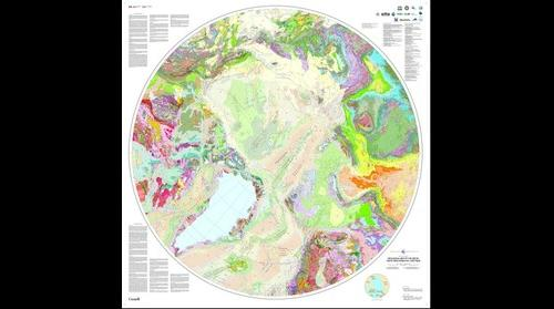 The Geological Map of the Arctic
