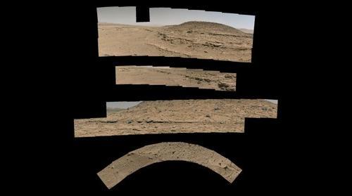 Curiosity Rover Sol 603 Composites