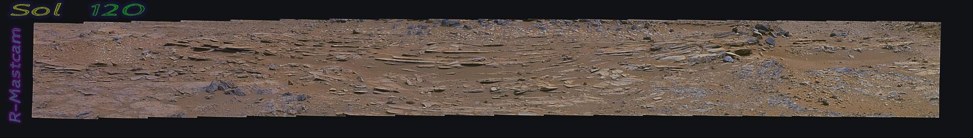 Curiosity Sol 120 PDS -  Drive toward
