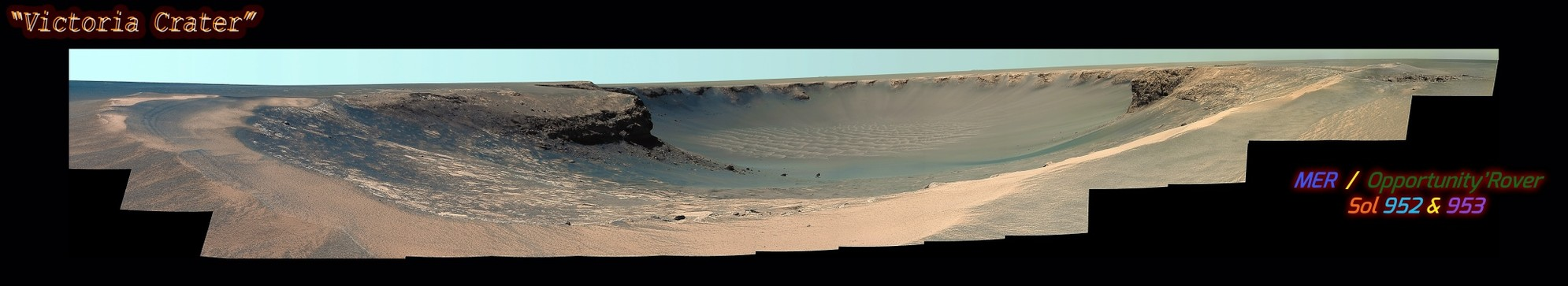 MER Opportunity Rover - Sol(s) 952 & 953