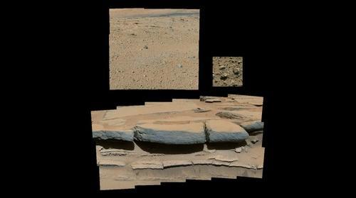 Curiosity Rover Sol 576 & 579