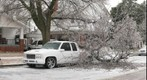 Ice Storm Damage, Hays, Kansas