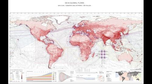 Data flow submarine cable networks