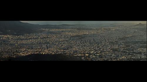 η Αθηνα φωτογραφια από την Πεντέλη