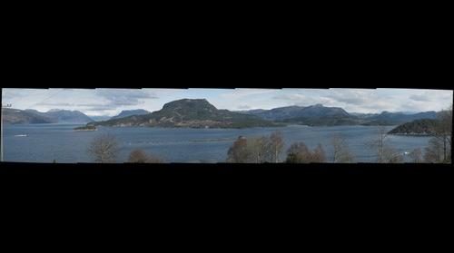 Halsnøy,  utsikt mot  øst