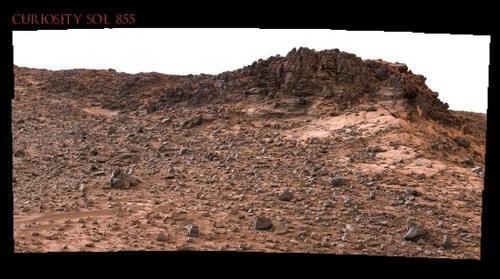 Curiosity Sol 855