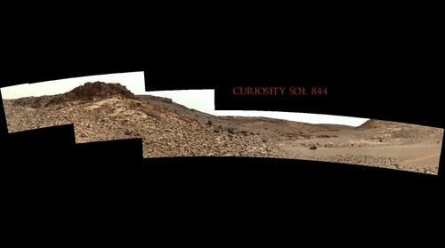 Curiosity Sol 844