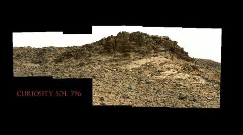 Curiosity Sol 796