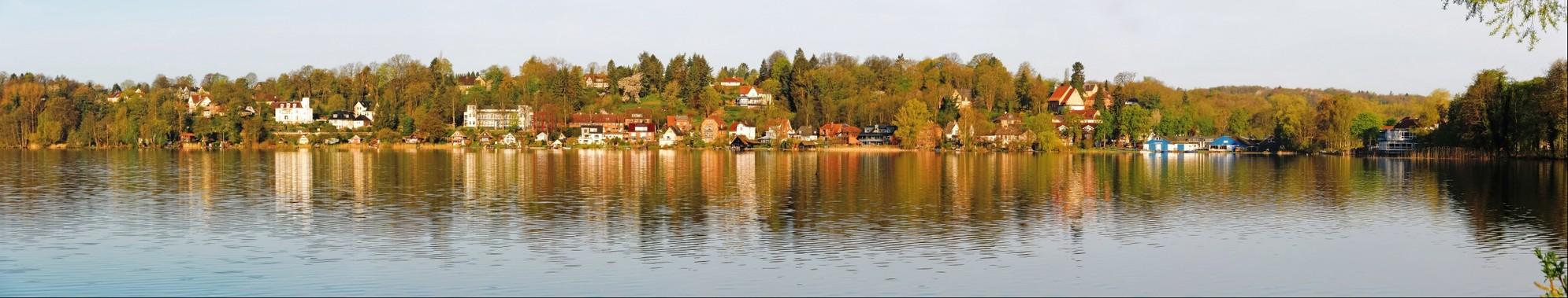Inselstadt Ratzeburg, westliches Ufer des Küchensees
