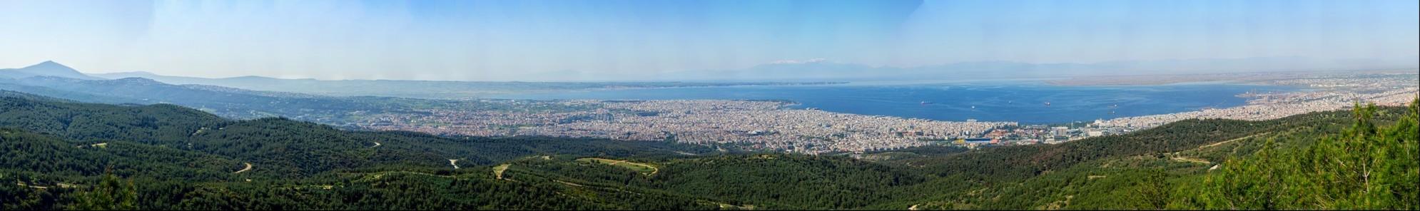 View from Seih-Sou Thessaloniki