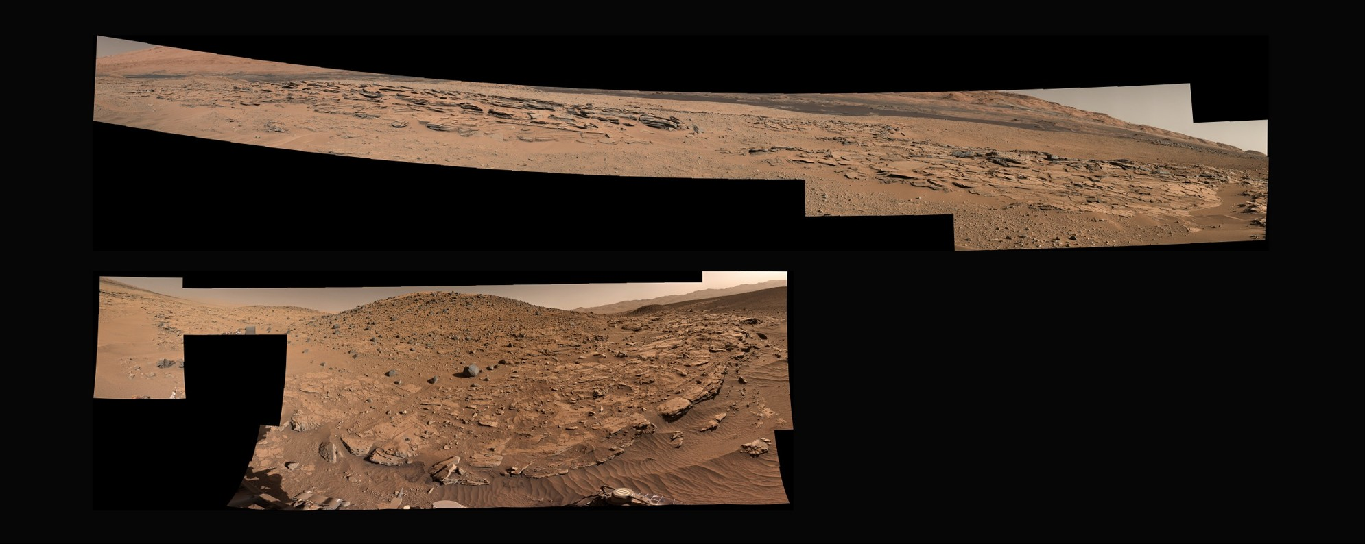 MSL Curiosity Rover - Sol 620 Right and Left Mastcam Composite [PDS]
