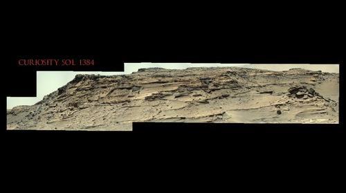 Curiosity Sol 1384
