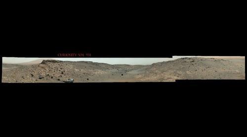 Curiosity Sol 931