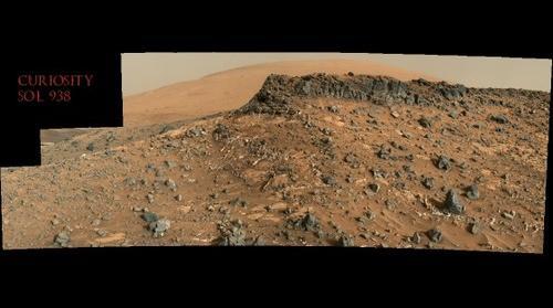 Curiosity Sol 938