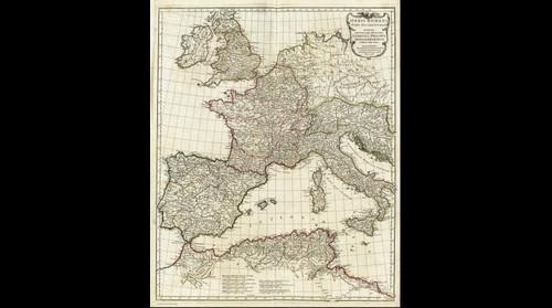 Orbis Romani map (1763)