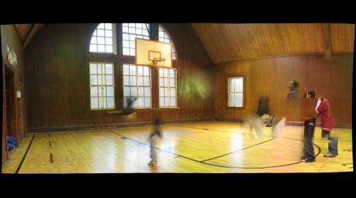 Braddock Carnegie Library --  gym