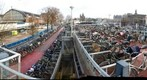 Amsterdam bike parking lot
