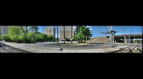 Waller Creek, Austin: I-35 west & 4th str