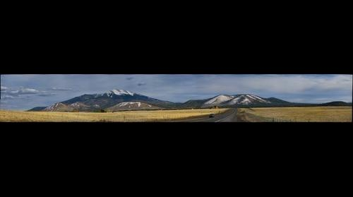 San Francisco Peaks from the North