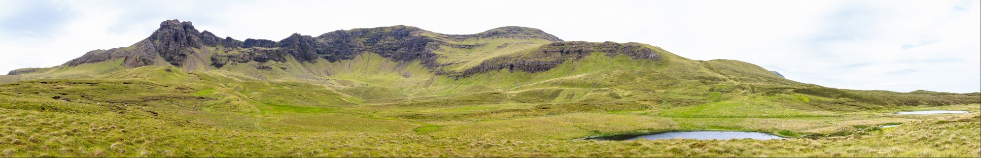 Trotternish Ridge from Loch Cuithir