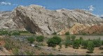 Green River Emerging from Split Mountain Gorge, Dinosaur National Monument, Utah