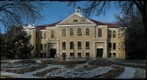 Picken Hall on an Icy Morning, Fort Hays State University