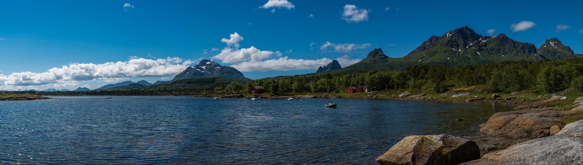 Lilandsjyen in Hamarøy (Norway)