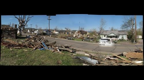 Mena Arkansas Tornado Damage