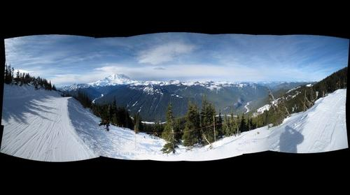 Mount Rainier from Crystal Mountain