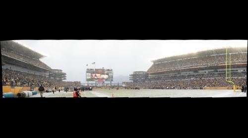 Snowy Heinz Field