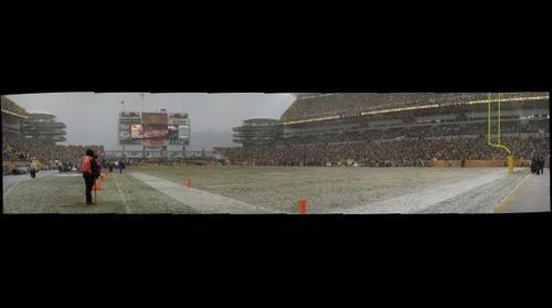Snowy Heinz Field 2