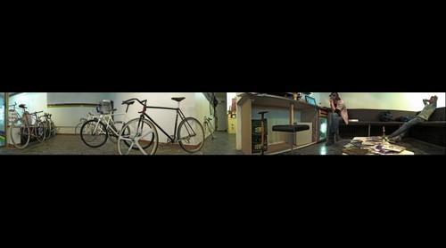 Eingang Frankfurt - Die Kunst des Fahrradfahrens