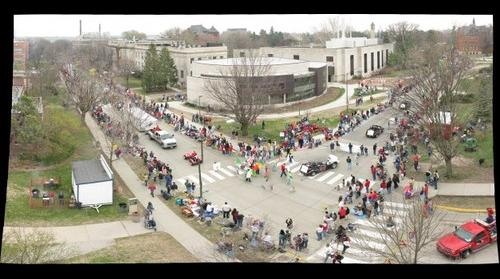 Iowa State VEISHEA Parade - From the top of Gilman Hall #3