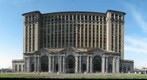 Detroit 's Michigan Central Depot