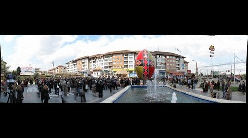 Biggest Painted Easter Egg-Suceava city sets world record