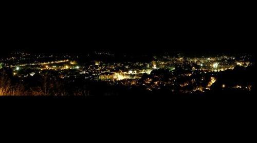 Panorama sa ilincice noc Tuzla Bosna i Hercegovina