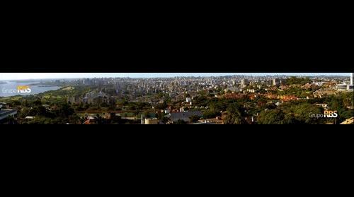 Panorama de Porto Alegre - Rio Grande do Sul - Brasil