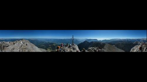 View from the Top of Goell (Austria/Salzburg)