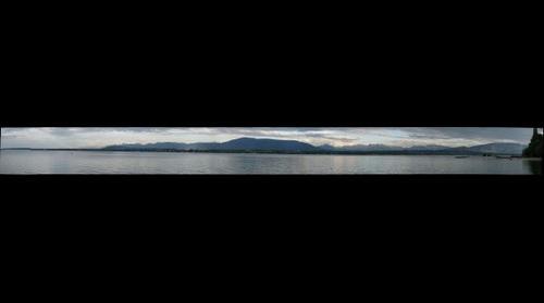 Vue de Genève ( de Versoix)