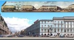 S.Petersburg Panorama of Nevsky Prospect 1830-2004 (Left Side)