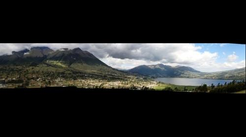 Imbabura y Laguna de San Pablo