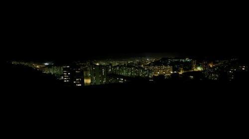 Panorama Tuzla Brcanska navecer