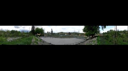 Panorama Tuzla Stadioni Jedinstvo
