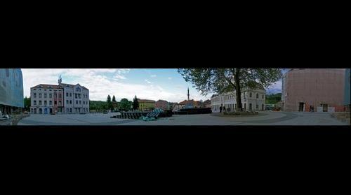 Panorama Tuzla Centar Barok (Stara Opstina)