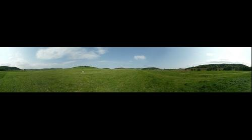 Threshold of rwy 33 LKCM - 360°