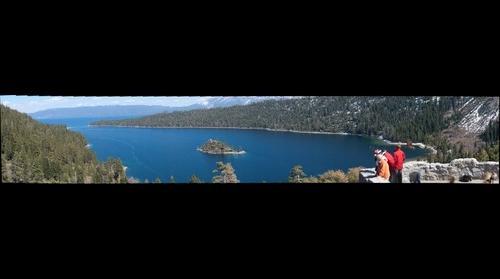 Lake Tahoe View from Vikingsholm Trailhead