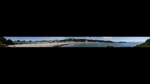 Trebeurden, plage de Tresmeur (vue2)